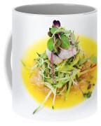 Asian Korean Fusion Fresh Prawn Salad Coffee Mug