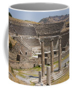 Asklepion Columns And Amphitheatre Coffee Mug