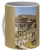 Asklepion Theatre And Columns Coffee Mug
