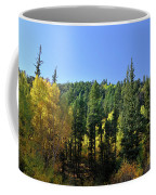 Aspen And Cottonwood In Concert Coffee Mug by Ron Cline