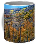 Aspen Cascades In The Sierra Coffee Mug