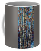 Aspen Forest In The Rocky Mountain Coffee Mug
