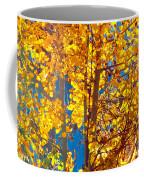 Aspen Glow Autumn Sky Coffee Mug