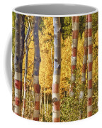 Aspen Gold Red White And Blue Coffee Mug
