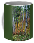 Aspen In Fall Coffee Mug