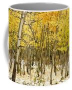 Aspen In Snow Coffee Mug