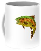 Aspen Leaf Rainbow Trout 1 Coffee Mug
