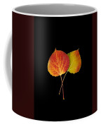 Aspen Leaves Coffee Mug