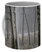 Aspen Stand In A Snowstorm Coffee Mug
