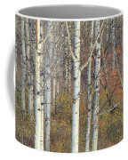 Aspens At Dusk Coffee Mug