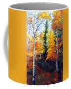 Aspens In Fall. Coffee Mug