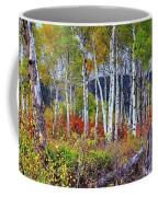 Aspens Meet Autumn Coffee Mug
