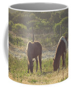 Assateague Island Wild Ponies Coffee Mug