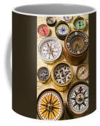 Assorted Compasses Coffee Mug