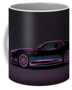 Aston Martin Dbs V12 2007 Painting Coffee Mug