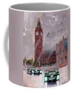 Aston Martin Racing In London Coffee Mug