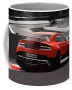Aston Martin Vantage Gt12 - Trackday Coffee Mug