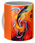 Astral Travels. Fire Way Out Of The Death Coffee Mug
