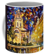 Asuncion Paraguay - Palette Knife Oil Painting On Canvas By Leonid Afremov Coffee Mug