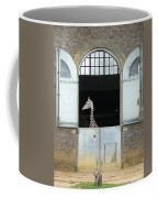 Asymmetrical Giraffe  Coffee Mug
