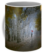 At Autumn Park Coffee Mug
