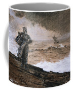 At High Sea Coffee Mug by Winslow Homer