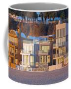 At Home On Santa Monica Beach Coffee Mug