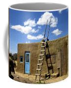 At Home Taos Pueblo Coffee Mug by Kurt Van Wagner
