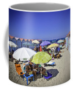 At Mondello Beach - Sicily Coffee Mug