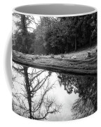 At Peace Coffee Mug by Donna Blackhall