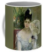 At The Ball Coffee Mug by Berthe Morisot