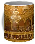 At The Budapest Opera Coffee Mug by Madeline Ellis