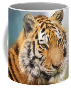 At The Center - Tiger Art Coffee Mug