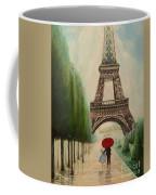 At The Eiffel Tower Coffee Mug