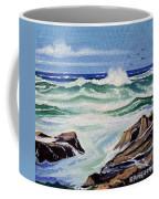 At The Ocean Coffee Mug