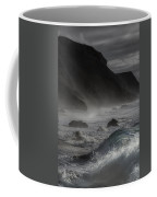 At The Sight Of The Wave Coffee Mug