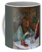 At The Toilet, Madame Poupoule Coffee Mug