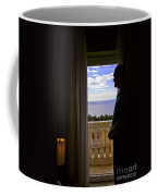 At The Window In Taormina Coffee Mug