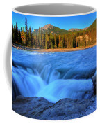 Athabasca Falls In Jasper National Park Coffee Mug