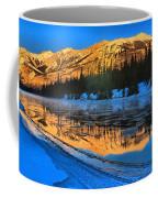 Athabasca River Glow Coffee Mug
