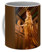 Athena With Nike Coffee Mug by Kristin Elmquist