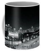 Atlanta Black And White Panorama Coffee Mug