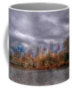 Atlanta City Skyline Georgia Usa Hdr Coffee Mug