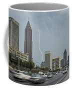 Atlanta Daytime Lightning Coffee Mug