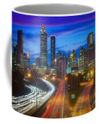 Atlanta Downtown By Night Coffee Mug