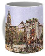 Atlanta Georgia Usa - Color Pencil Coffee Mug