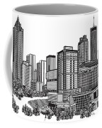 Atlanta Georgia Vector Coffee Mug