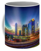 Atlanta Midtown Atlantic Station Starburst Atllanta Georgia Art Coffee Mug