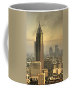 Atlanta Skyline At Dusk Coffee Mug