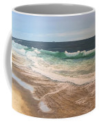 Atlantic Beach Waves Coffee Mug